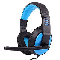 "Наушники ""Headphones+ microphone  OVLENG  Q11,Ø 40mm,32Ω ±  15℅,108± 2 dB,20-20,000Hz,120mW,USB,2.2m"""