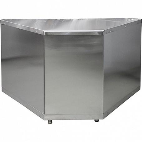 Стол нейтральный поворотный внутренний Лира-Профи СН90-В/ЛП (1468х705х870мм)