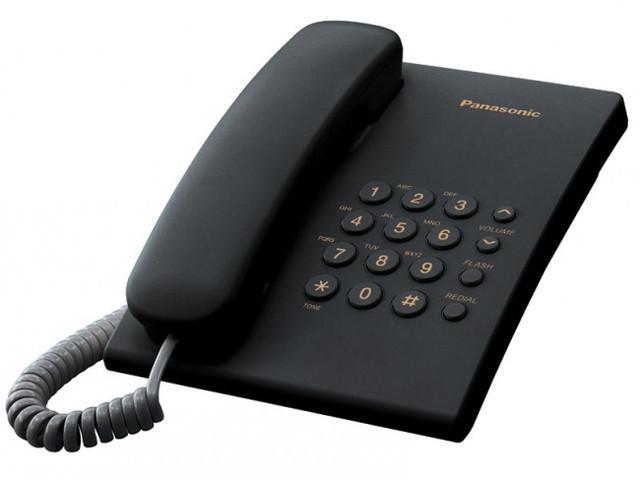 Аналоговый однолинейный телефон Panasonic KX-TS2350 для мини АТС