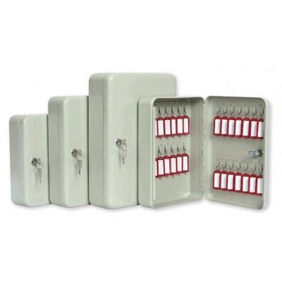Шкафчик для 140 ключей, 370x280x80мм, настенный, серый стальной ProfiOffice