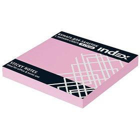 Бумага для заметок с липким слоем,  разм. 76х75 мм, светло-розовая, 100 л.