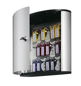 Шкафчик для 18 ключей, 302x280x118мм, настенный, серебристый металлик Durable