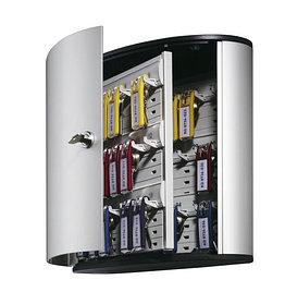 Шкафчик для 36 ключей, 302x280x118мм, настенный, серебристый металлик Durable
