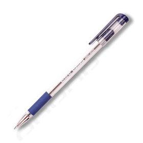 Ручка шариковая, 0.5мм, синяя, корпус прозрачный, с резиновым упором для пальцев Epene
