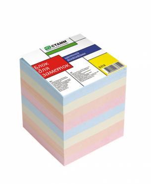Блок для заметок  8*8*8, цветной