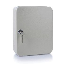 Шкафчик для 48 ключей, 250x180x80мм, настенный, металл, серый Donau