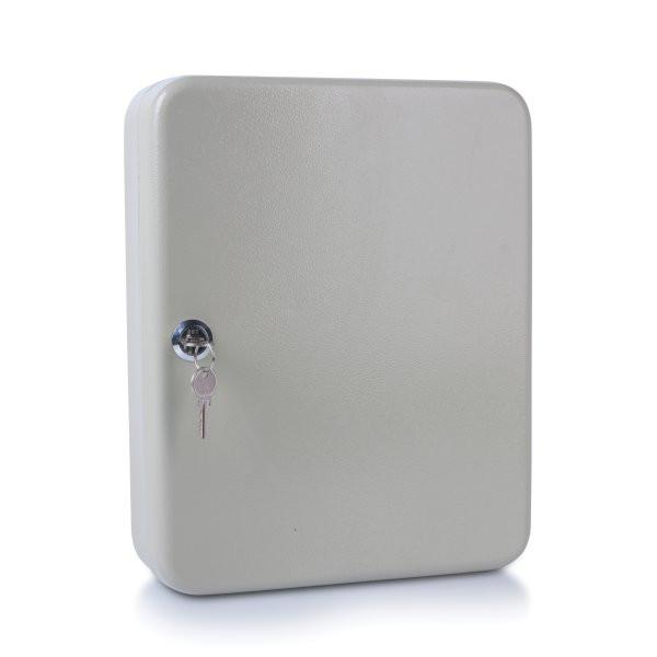 Шкафчик для 93 ключей, 300x240x80мм, настенный, металл, серый Donau