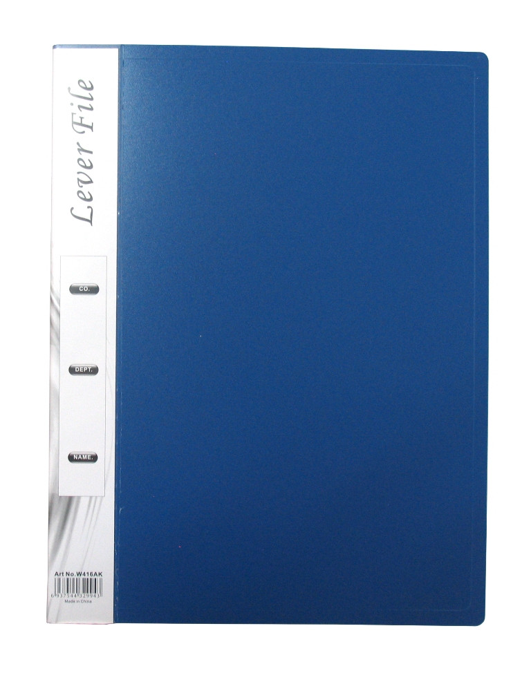 Папка с прижим.зажимом А4, 0.070мм, 20мм, пластик Foska