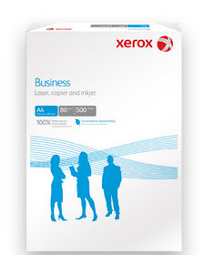 Бумага А4, 80 г/м2, Xerox Business, 500л, CIE 164, класс В (Финляндия)