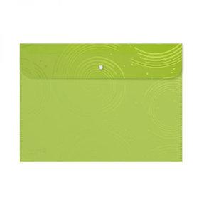 Папка с кнопкой А4, 30мм, пластик Shuter