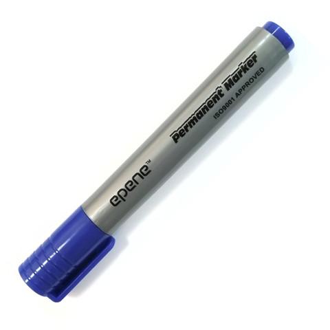 Маркер перманентный, 1.5-2.5мм, кругл.наконечник, синий Epene