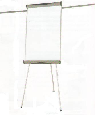 Доска-флипчарт 60x90см, магнитно-маркерная, 2держателя, блокнот, 3ножки, Data Zone