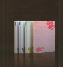 Папка с прижимным зажимом А4, 20мм, пластик Shuter