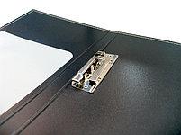 Папка с прижимным зажимом А4, 20мм, пластик Shuter, фото 3