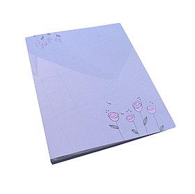 Папка с прижимным зажимом А4, 21мм, пластик Shuter