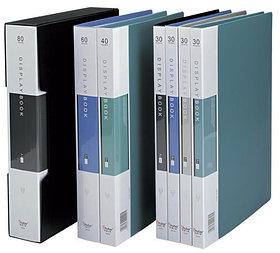Папка на 80файлов, А4, 55мм, пластик Shuter Standard
