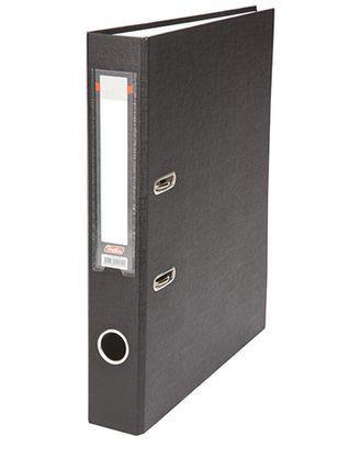 """Папка-регистратор  """"Eco"""" А4 с бок. карманом, 50мм, черный"""
