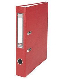 """Папка-регистратор  """"Есо"""" А4 с бок. карманом, 50мм, красный"""