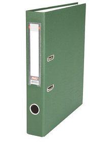 """Папка-регистратор  """"Есо"""" А4 с бок. карманом, 50мм, зеленый"""