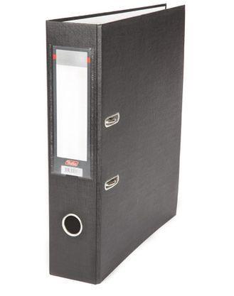 """Папка-регистратор  """"Eco"""" А4 с бок. карманом, 70мм, черный"""