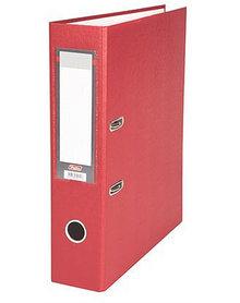 """Папка-регистратор  """"Eco"""" А4 с бок. карманом, 70мм, красный"""