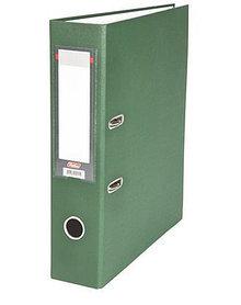 """Папка-регистратор  """"Eco"""" А4 с бок. карманом, 70мм, зеленый"""