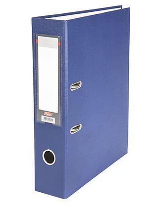 """Папка-регистратор  """"Eco"""" А4 с бок. карманом, 70мм, т.-синий"""
