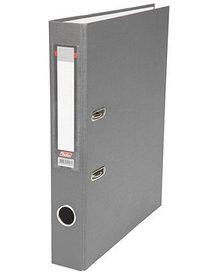"""Папка-регистратор  """"Есо"""" А4 с бок. карманом, 50мм, серый"""