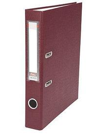 """Папка-регистратор  """"Есо"""" А4 с бок. карманом, 50мм, бордовый"""