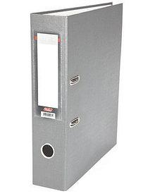 """Папка-регистратор  """"Eco"""" А4 с бок. карманом, 70мм, серый"""