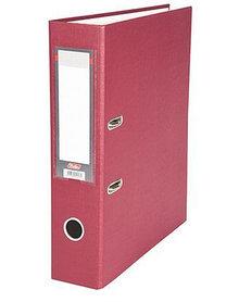 """Папка-регистратор  """"Eco"""" А4 с бок. карманом, 70мм, бордовый"""