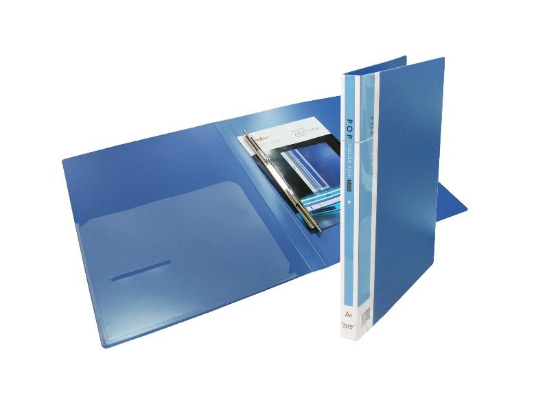 Папка с пружинным зажимом А4, 21мм, пластик Shuter Standard