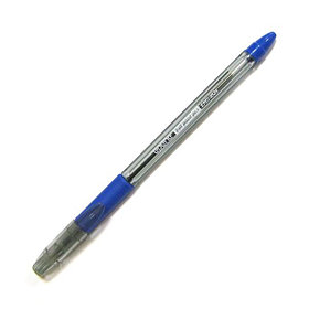 Ручка шариковая, 0.7мм, синяя, корпус прозрачный, с резиновым упором для пальцев Epene