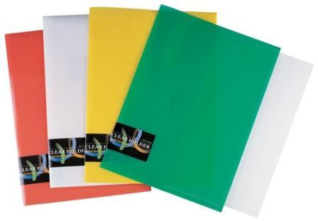 Папка-конверт А4, пластик Shuter