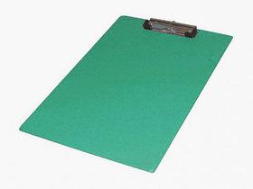 Планшет А4, с верхним прижимом, зеленый PVC Eisear