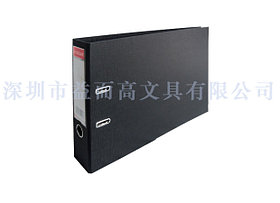 Регистратор A3, 72мм, PVC/Paper, горизонтальный, черный Eisear