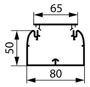 10419 - Кабель канал LEGRAND 80х50