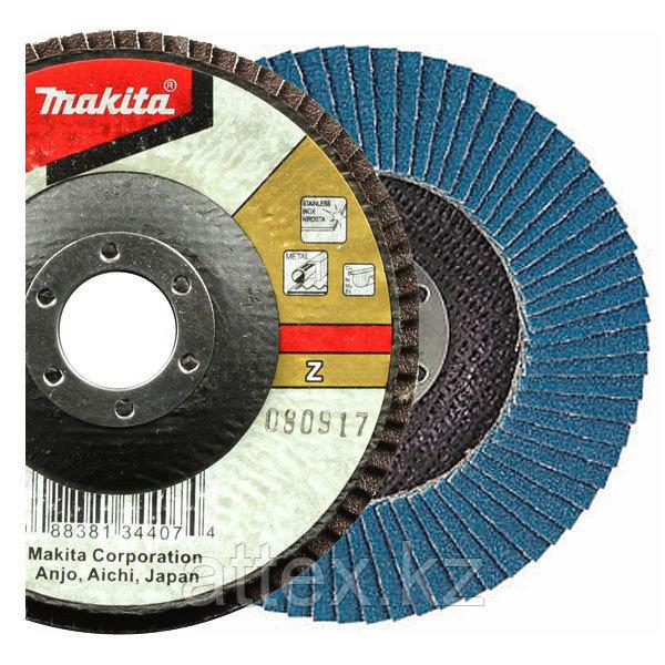 Лепестковый шлифовальный диск Makita Z80 115 мм