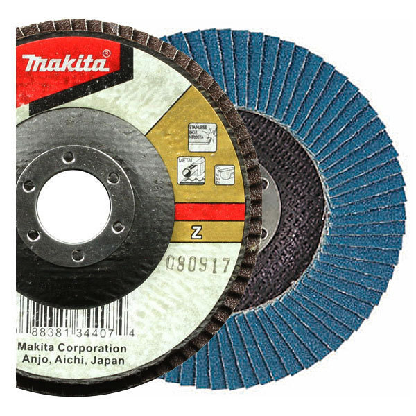 Лепестковый шлифовальный диск Makita Z40 115 мм