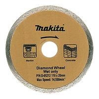 Сплошной алмазный диск Makita 110 мм