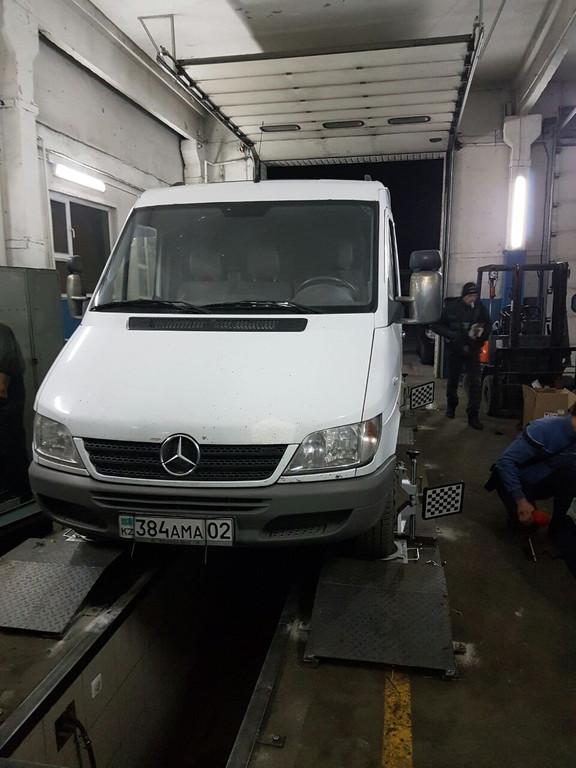 Комплектация оборудования для автосервиса мерседес спринтер в г.Алматы (их тел. 87757777782)