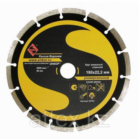 Алмазный сегментированный диск по бетону 180 мм