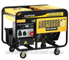 Бензиновый генератор KIPOR KGE12E3