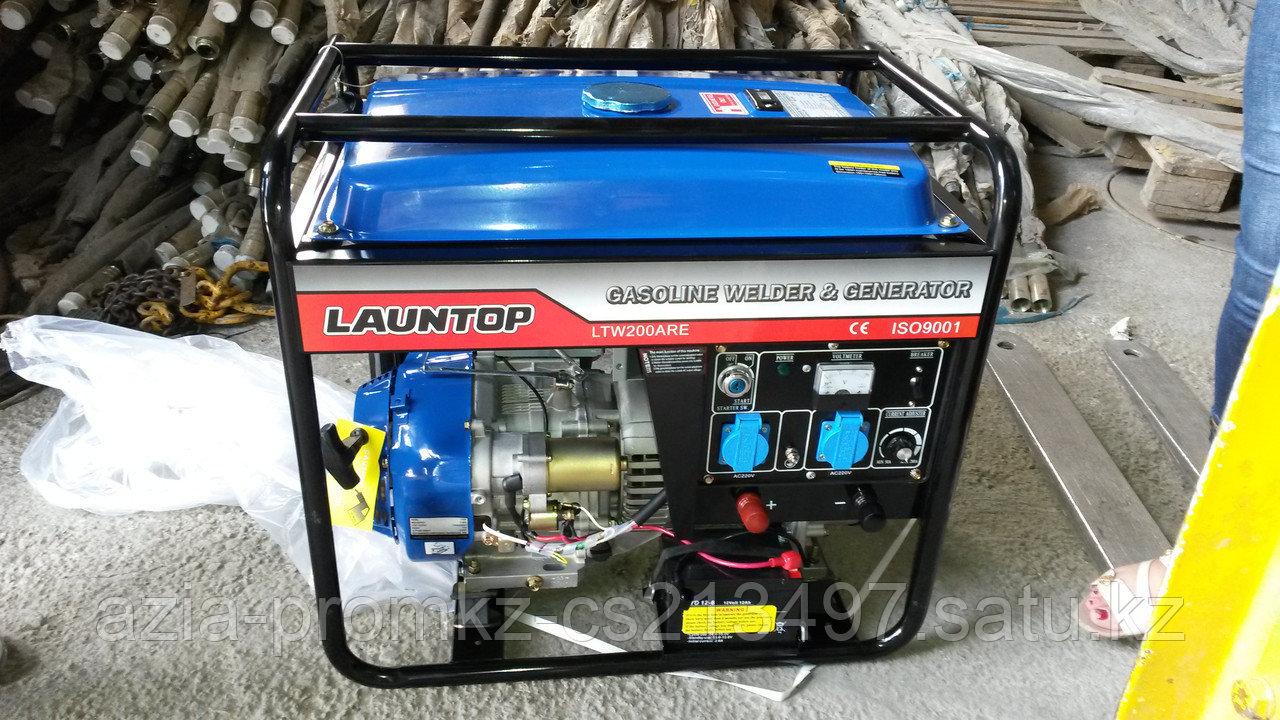 Сварочный генератор LAUNTOP LTW200ARE (бензин)
