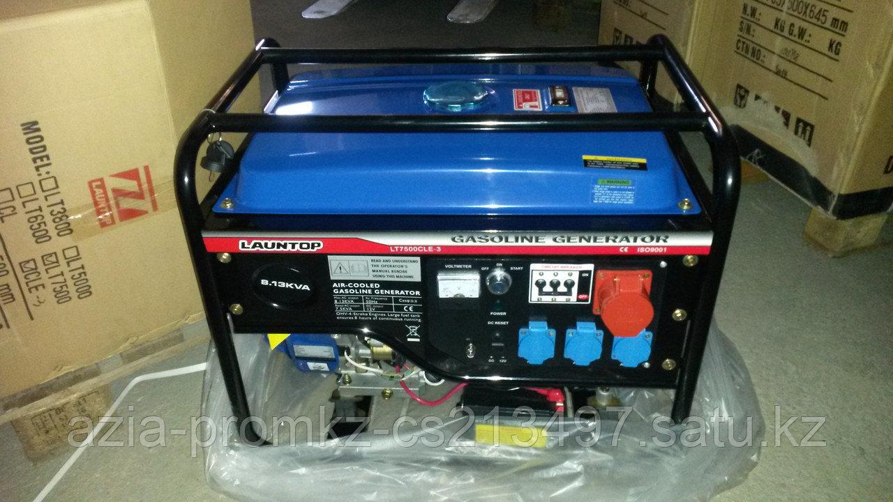 Бензиновый генератор LAUNTOP LT7500CLE-3