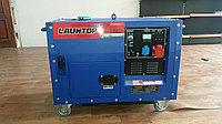 Бензиновый генератор LAUNTOP LT6500S-3 в кожухе, фото 1