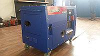 Бензиновый генератор LAUNTOP LT6500S в кожухе