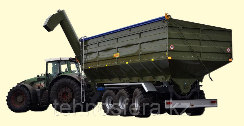 Перегрузочный бункер накопитель ПБН-40 грузоподъемность 30 т, объем 40 м3