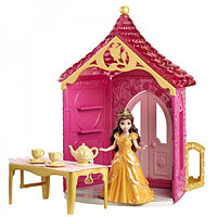 Disney Princess Кукла Белль и комната куклы с аксессуарами в асс
