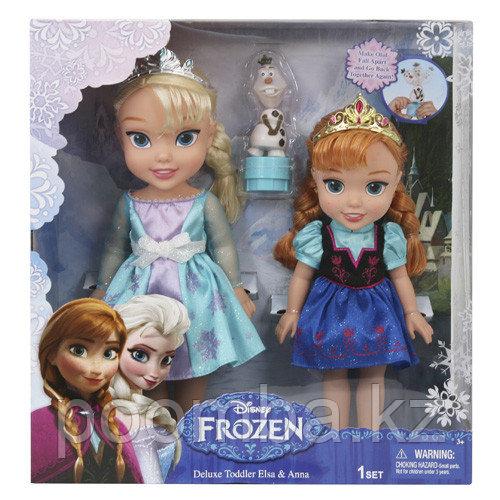 """Игровой набор """"Холодное Сердце"""" - 2 куклы и Олаф"""